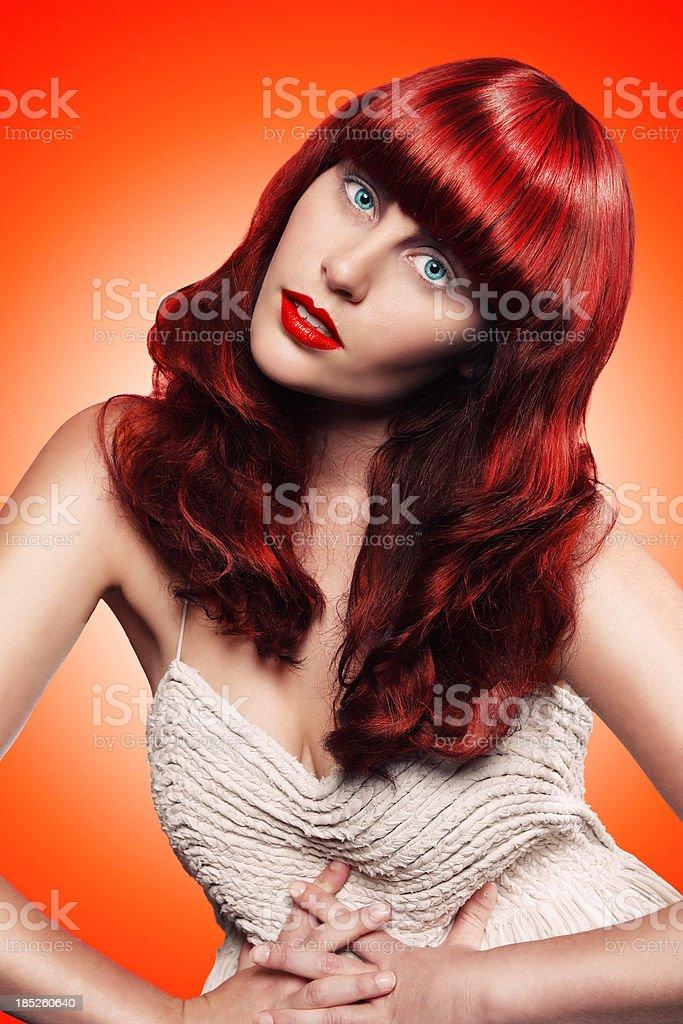 Red Vixen royalty-free stock photo