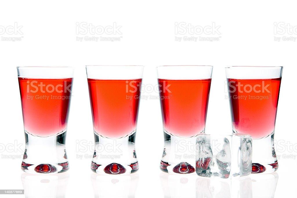 red vodka royalty-free stock photo