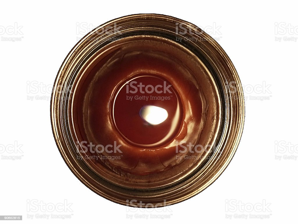 red votive candle royalty-free stock photo