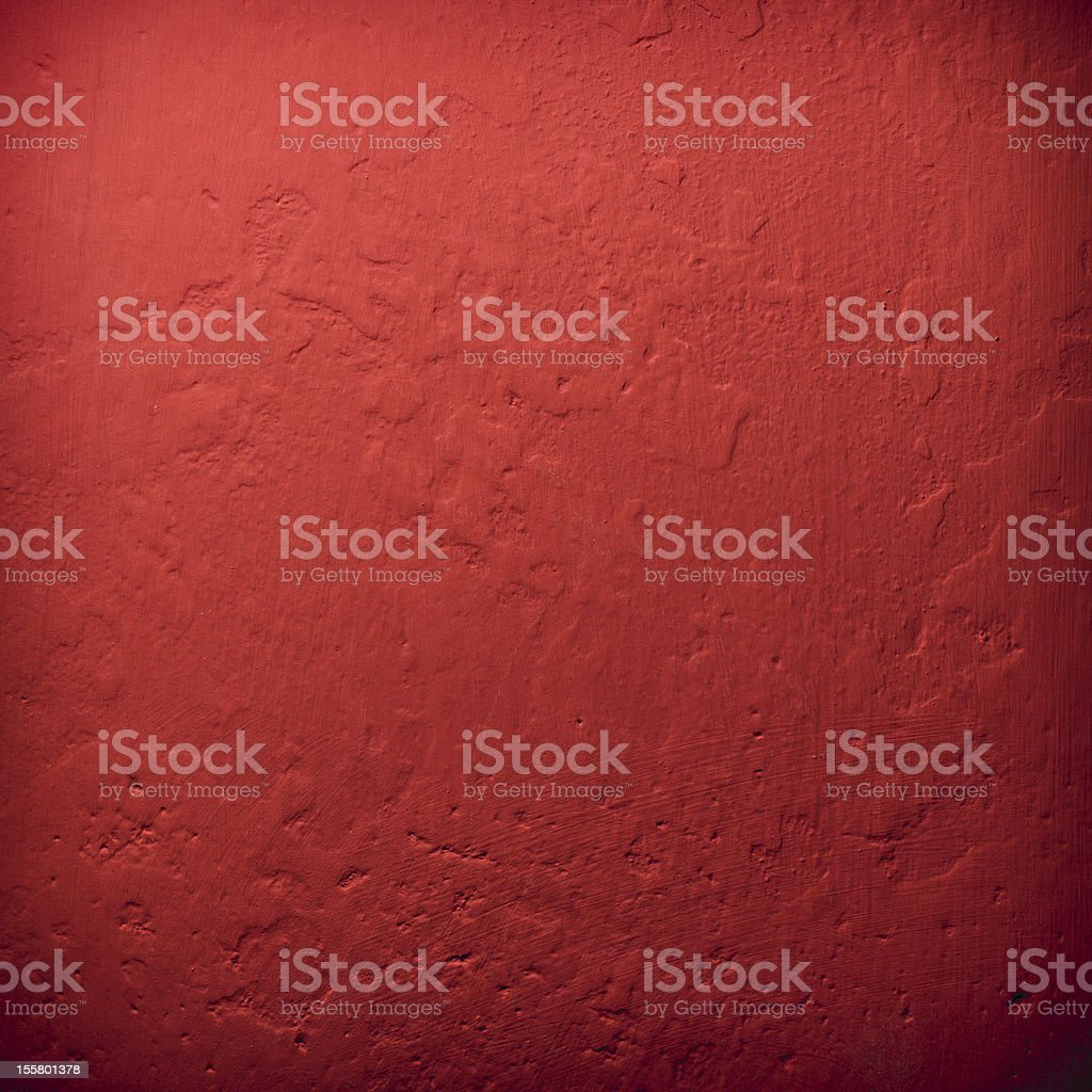 Red wall background or texture stock photo