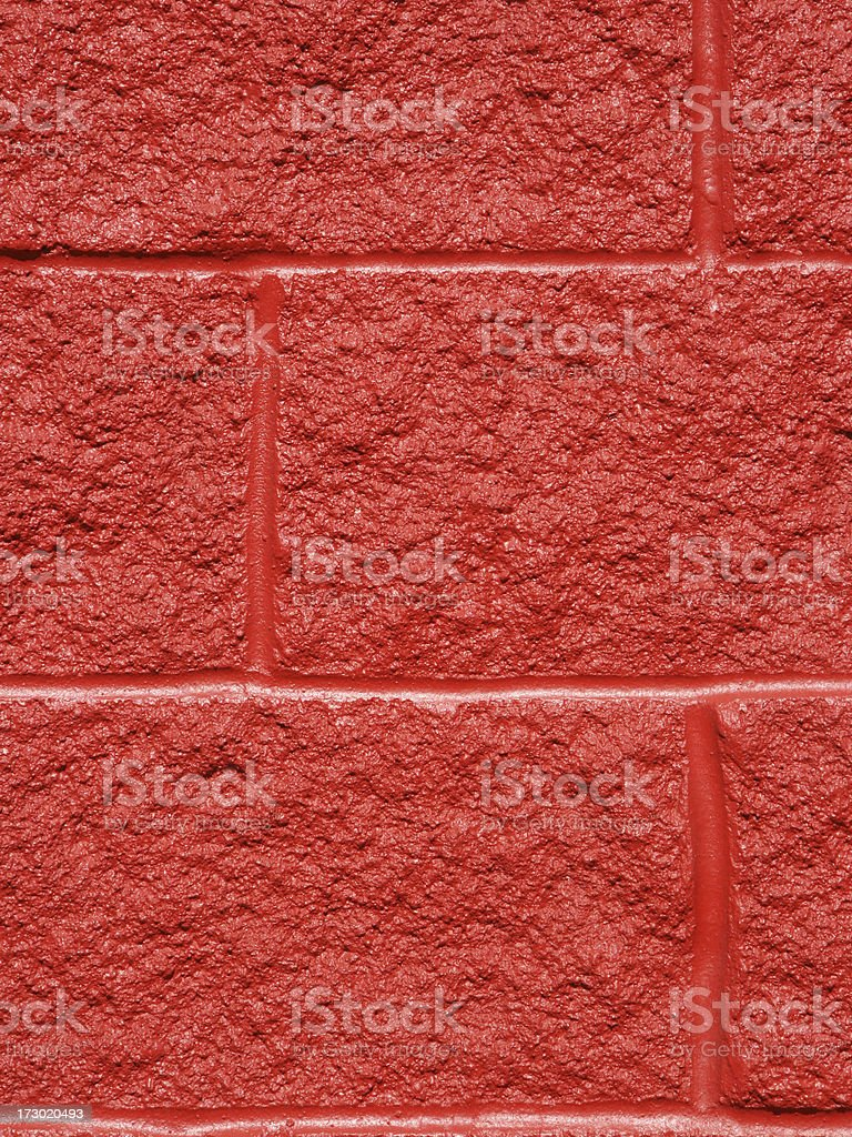 Red wall. royalty-free stock photo