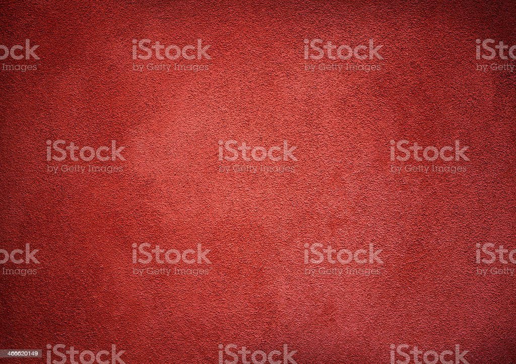 Red Wall Texture Vignette stock photo