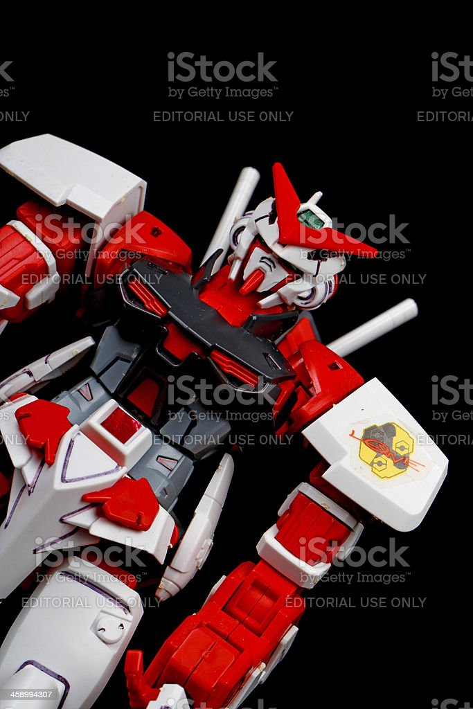 Red Wars in the Future royalty-free stock photo