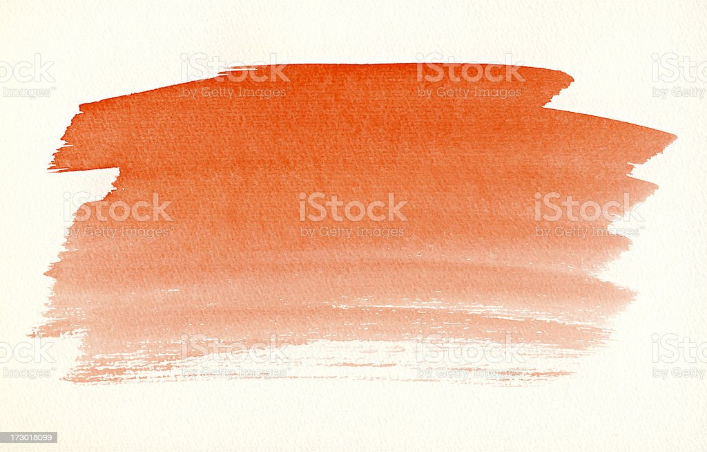 Red Aquarell Background royalty-free stock photo