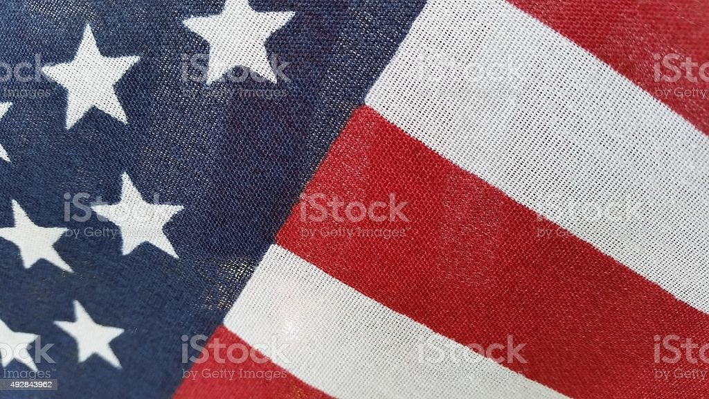 Red, White, and Blue - American Flag stock photo