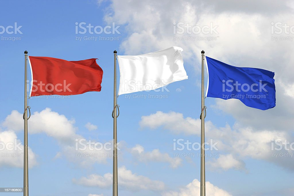 Red White Blue royalty-free stock photo