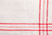 red white dishtowel textile texture