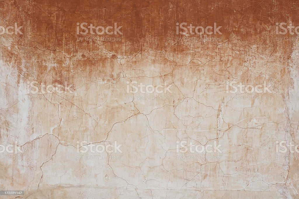Red white Roman grunge wall texture, Rome Italy royalty-free stock photo
