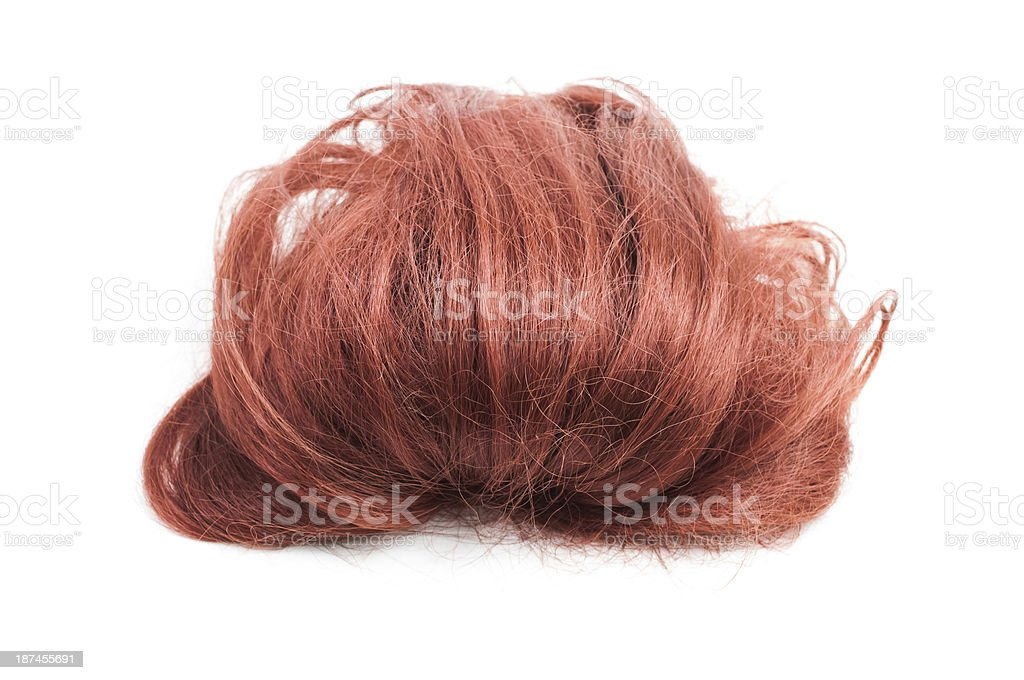 Red Wig stock photo