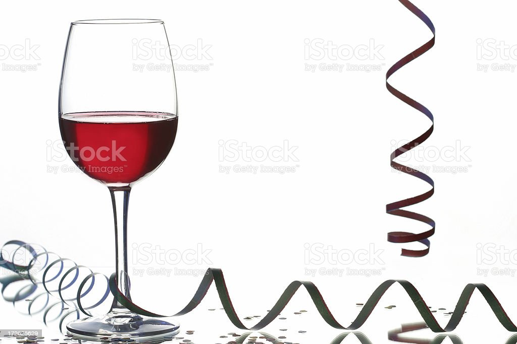 red wine at the party royalty-free stock photo