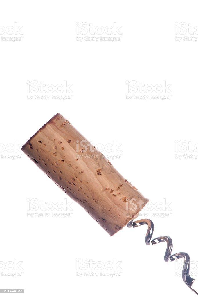 Red Wine Cork stock photo