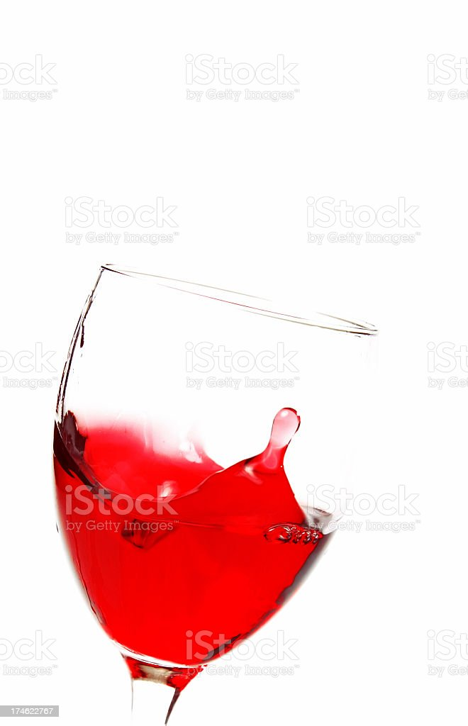 Red Wine Disaster royalty-free stock photo