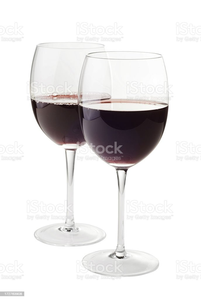 Red Wine for Two stock photo