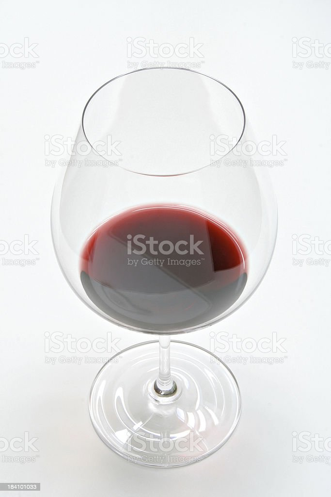 Red Wine Glass royalty-free stock photo