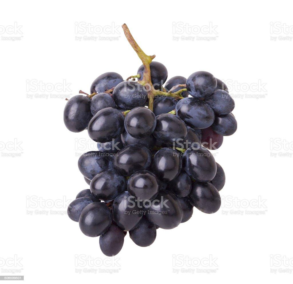 Vinho tinto com uvas foto royalty-free