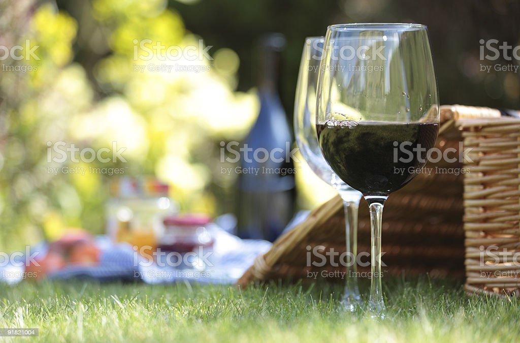 Пакет услуг «Summer picnic обстановке Стоковые фото Стоковая фотография