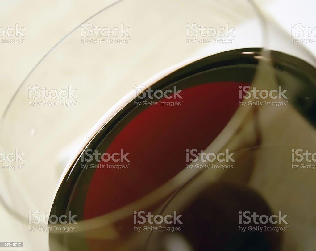 Vin rouge photo Macro Rim photo libre de droits
