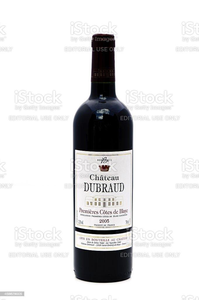 Red Wine (Bordeaux) stock photo