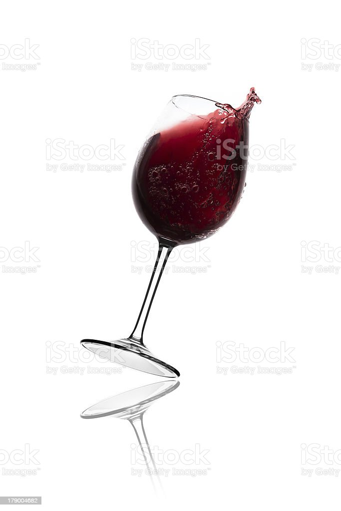 red wine splash royalty-free stock photo