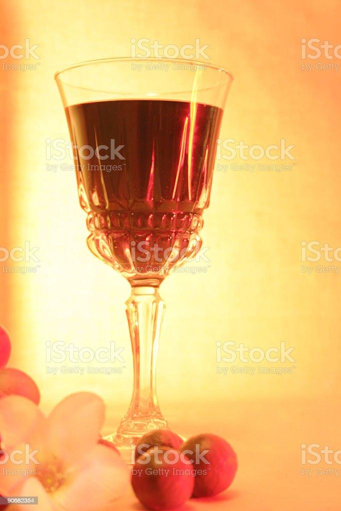 Red wine  still life royalty-free stock photo
