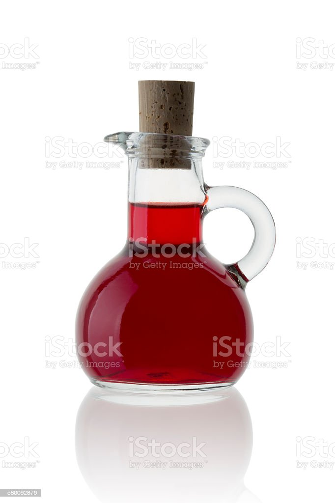 Red Wine Vinegar stock photo