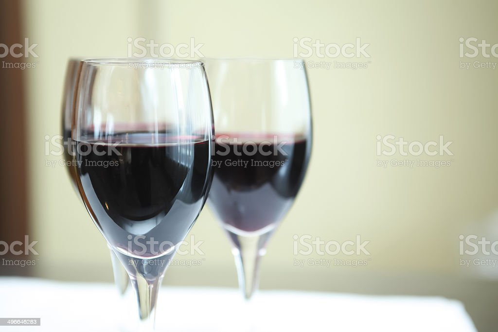Red wines royalty-free stock photo