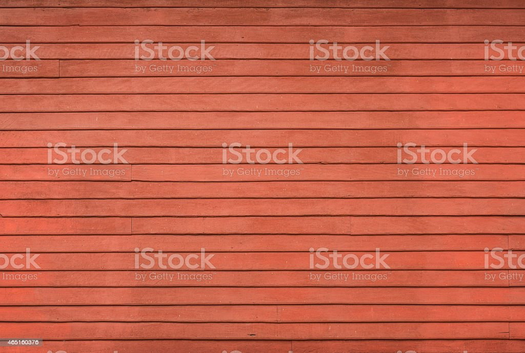 red wood stripe texture on decorative surface wall stock photo
