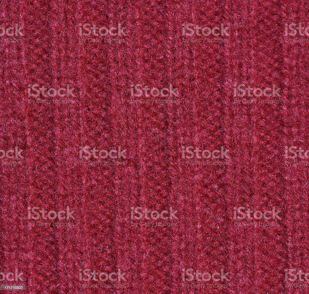 red wool sweater royalty-free stock photo