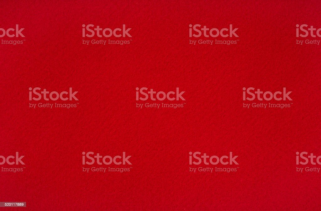 Red woolen baize stock photo
