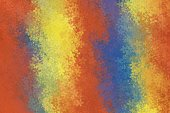 red yellow and blue flowers abstract background