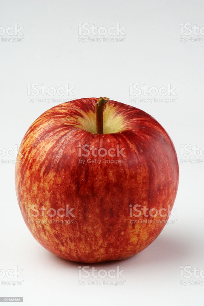 Red Yellow Apple stock photo