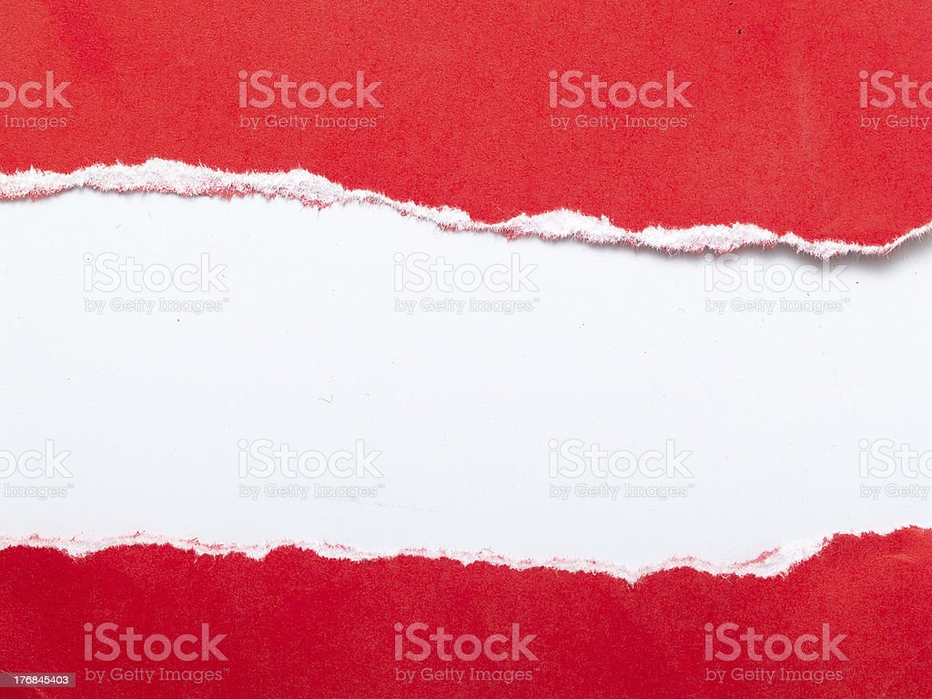 Red_paper stock photo