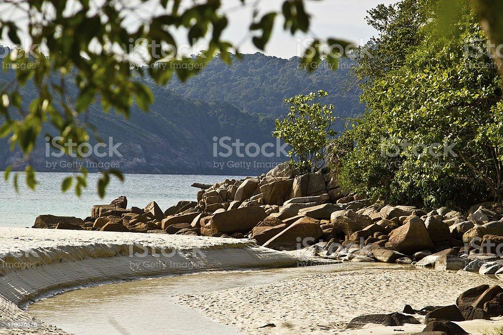 Redang island royalty-free stock photo