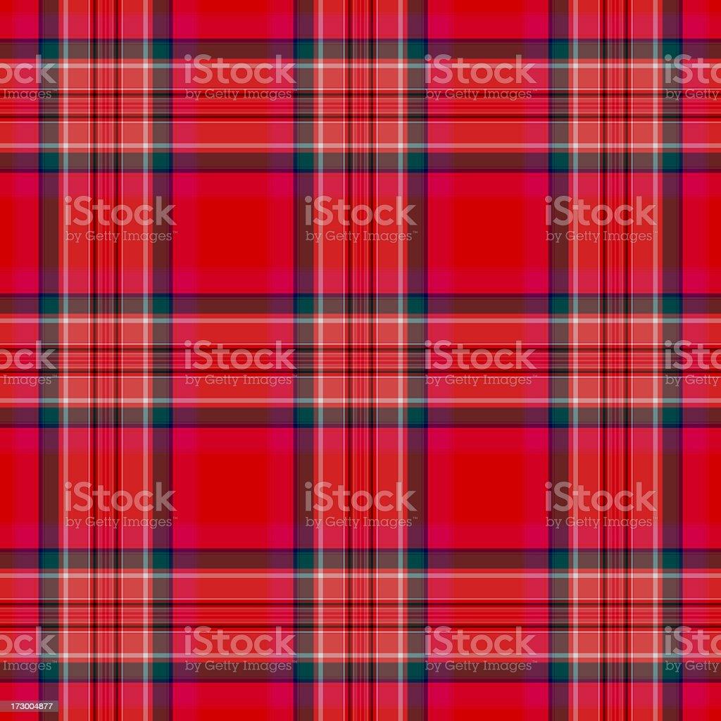 Red-based Irish traditional plaid pattern royalty-free stock photo