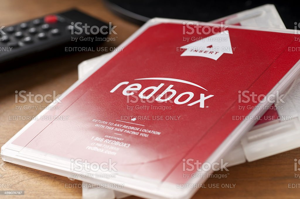 Redbox stock photo
