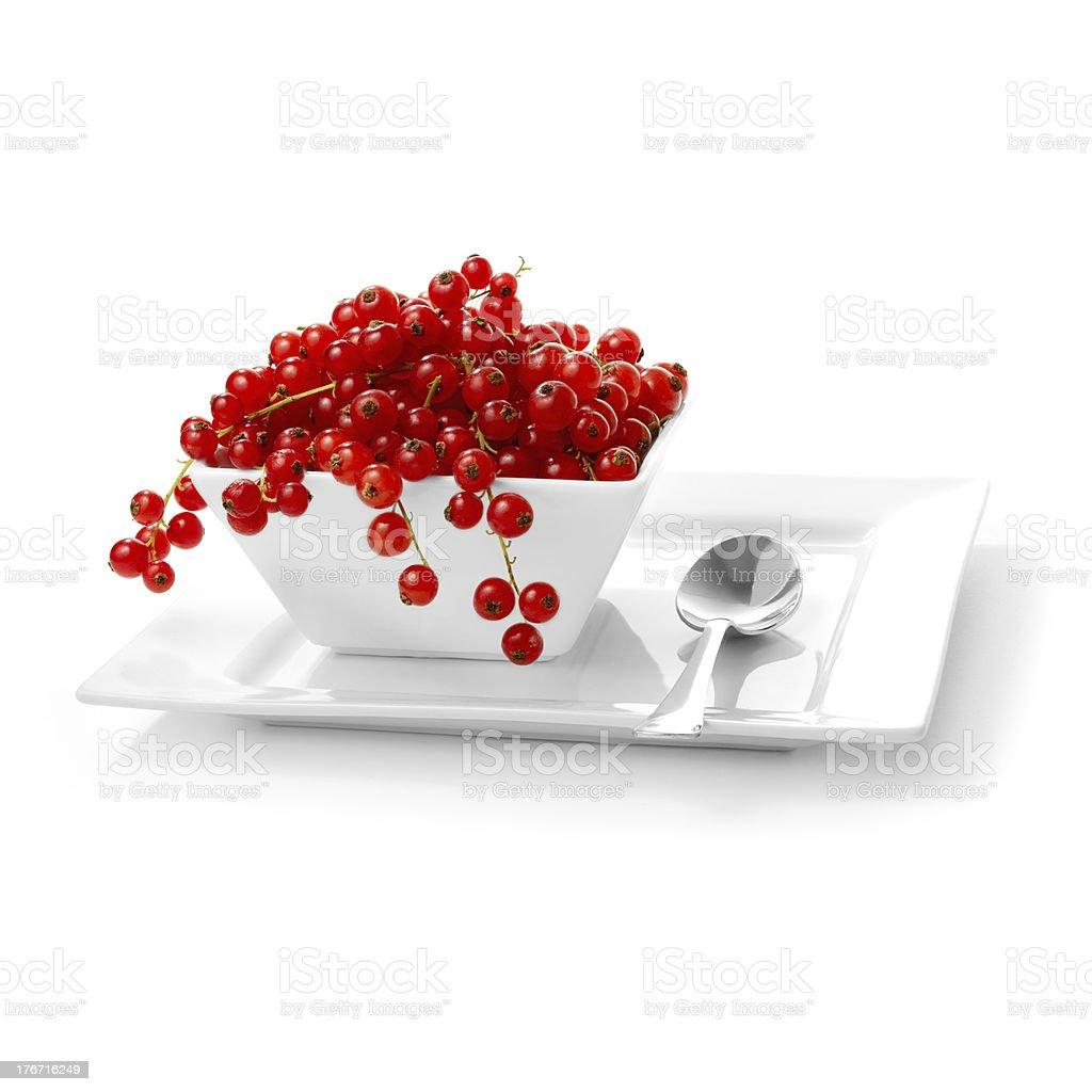 Redcurrants royalty-free stock photo