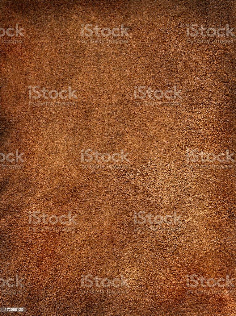 Reddish Brown Suede stock photo