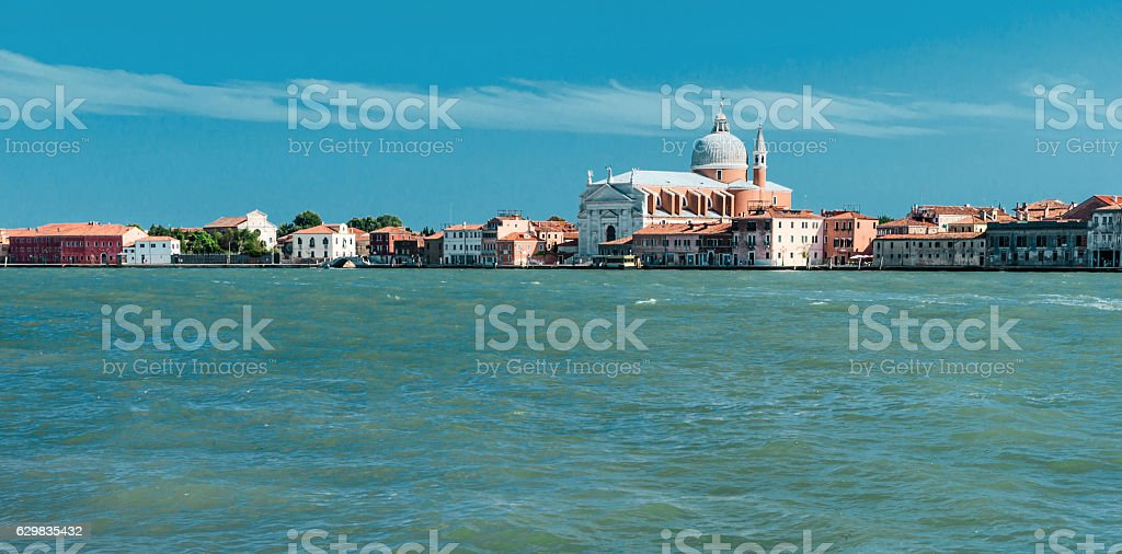 Redentore cathedral in Venice stock photo