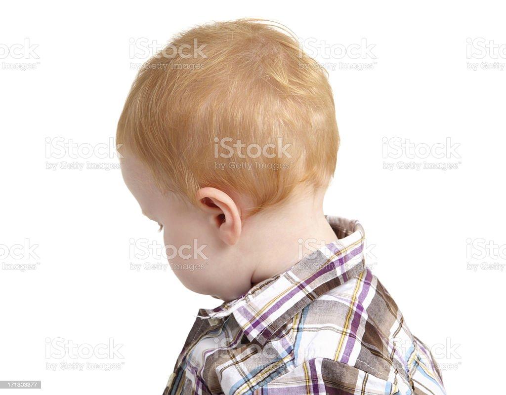 Redhead Baby royalty-free stock photo