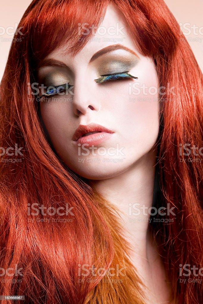 Redhead Beauty royalty-free stock photo