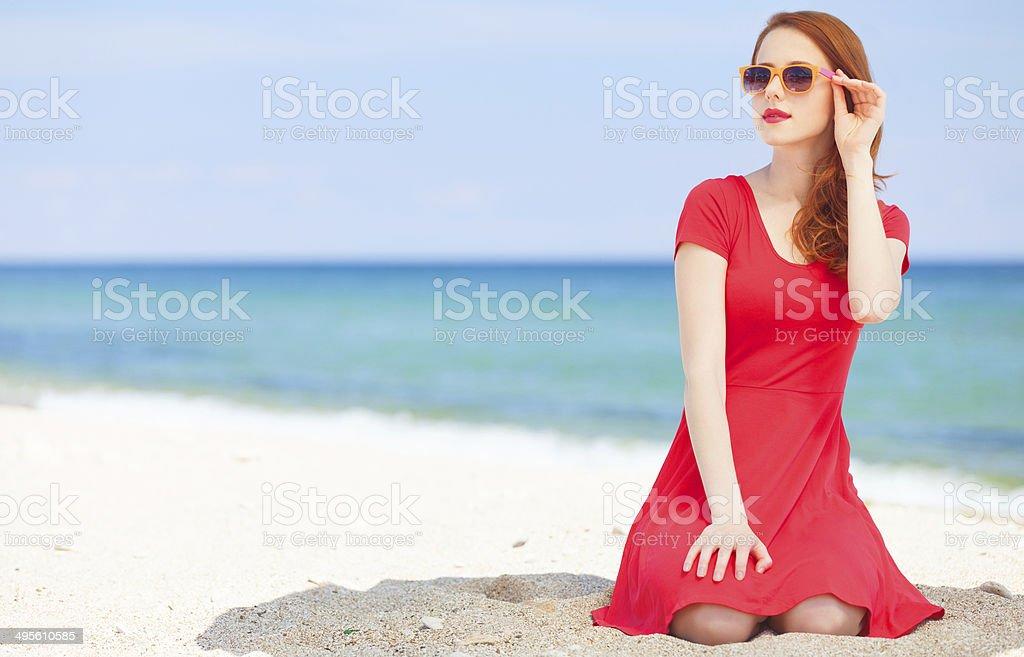 На пляже рыжие фото 141-253