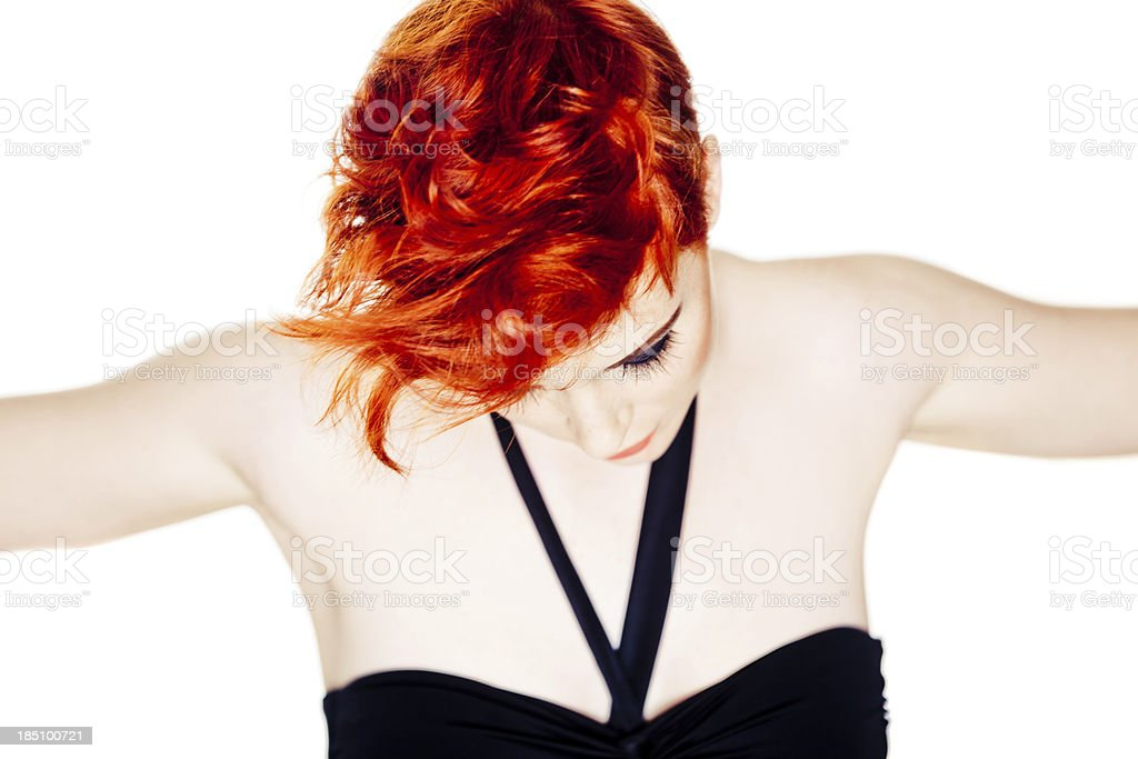 Redhead royalty-free stock photo