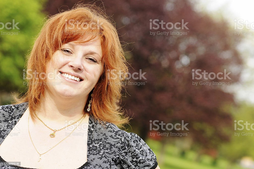 Redhead Portrait royalty-free stock photo