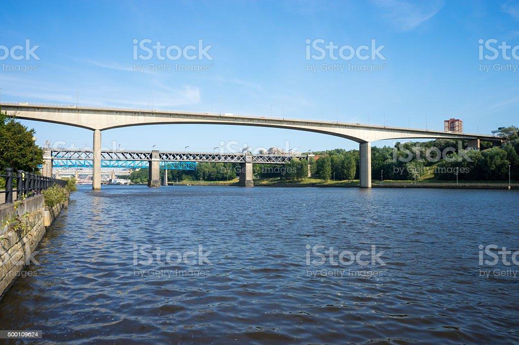 Redheugh Bridge stock photo