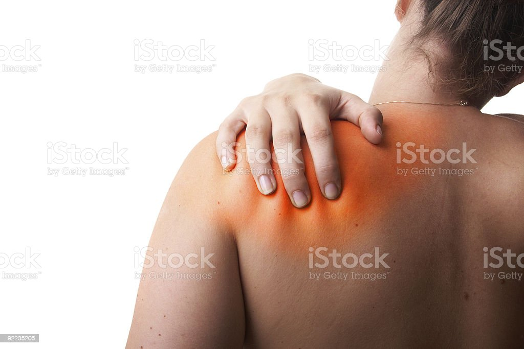 Redish Pain stock photo