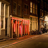 Red-light District, Amsterdam, the Netherlands