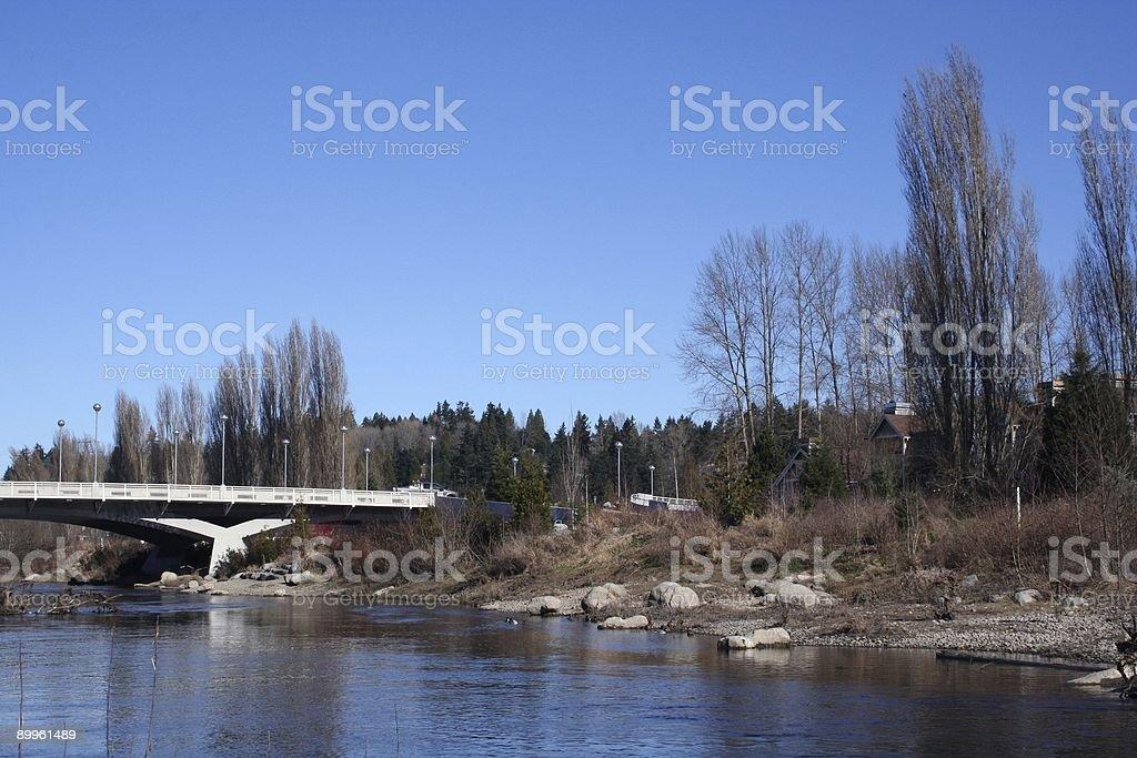 Redmond Bridge stock photo