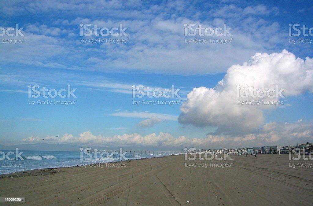 Redondo Beach royalty-free stock photo