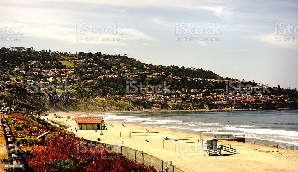 Redondo Beach to Palos Verdes stock photo