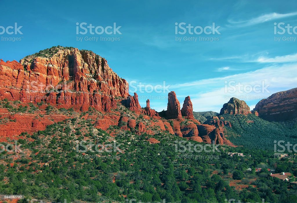 RedRock Sedona stock photo
